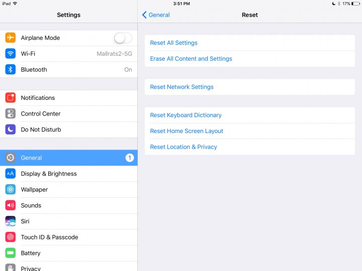 Reset your Network settings on iPhone and iPad.