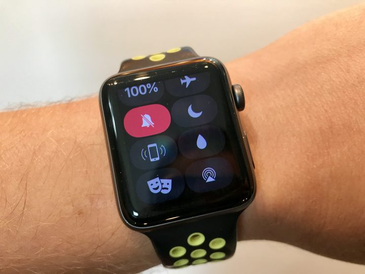 Silence Your Apple Watch in a Movie Theater