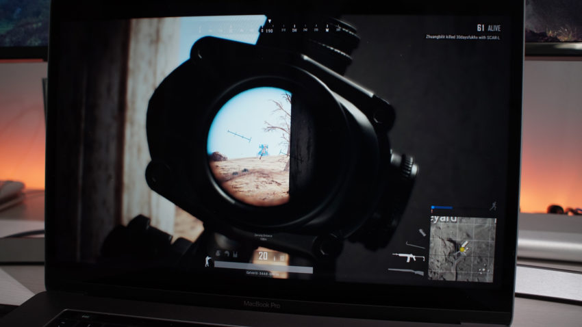 Playing PUBG on Mac is fun and rewarding with GeForce Now.