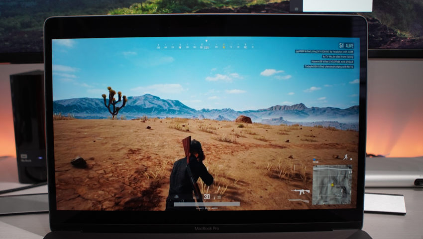 Whether you play PUBG on Mac, Windows or Xbox One you get the same, loot and shoot approach.