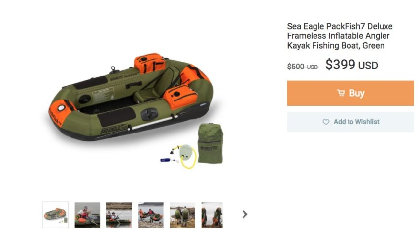 An Inflatable Boat
