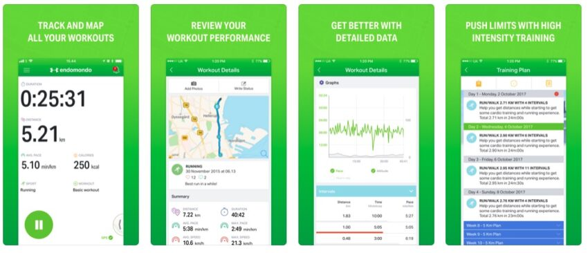 get help meeting your goals with this workout app for iPhone and Android.