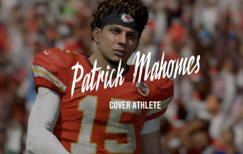 Patrick Mahomes is on the cover of Madden 20.