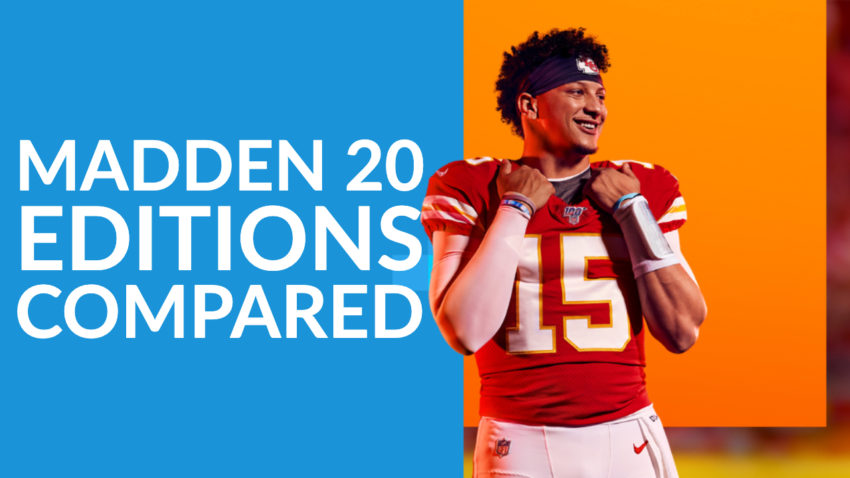 How Madden 20 editions compare.