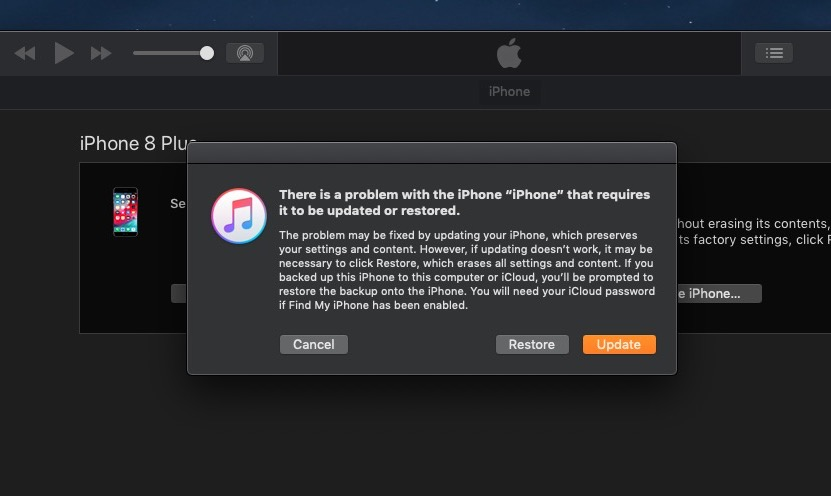 Choose to Restore to install the current non beta iOS release.