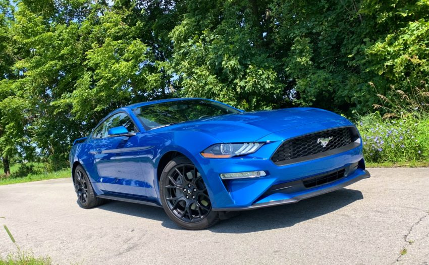Paired with the Performance Package 1, the Mustang EcoBoost Premium is fun to drive.