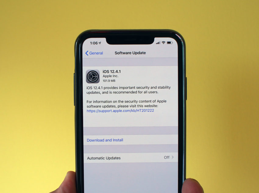 iPhone X iOS 12.4.1 Impressions & Performance