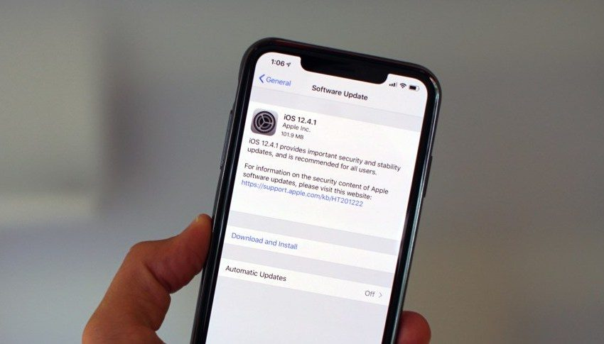 How to go back to iOS 12 from iOS 13.