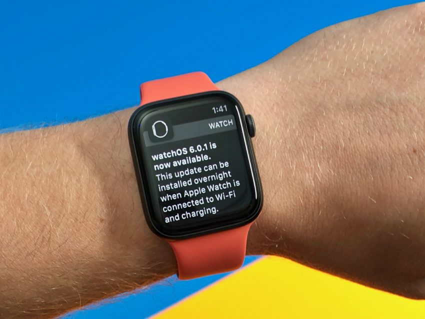 What you need to know about the watchOS 6.0.1 update.