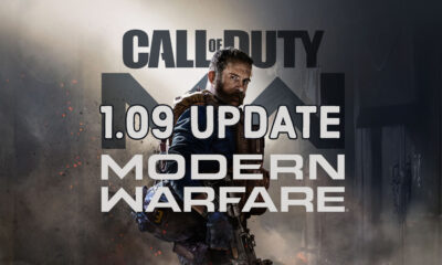 Here's what's new in the Call of Duty: Modern Warfare 1.09 update.