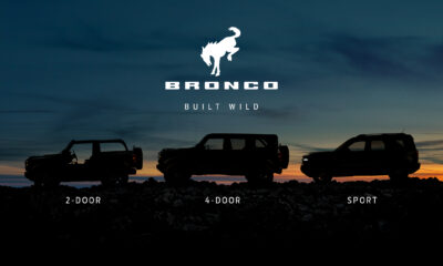 2021 Ford Bronco profile