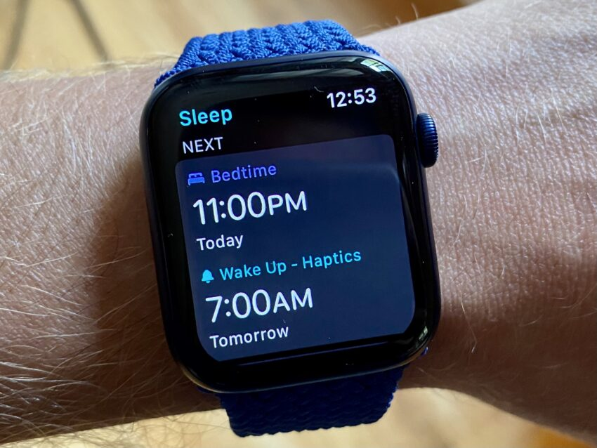 Track Your Sleep With the Apple Watch