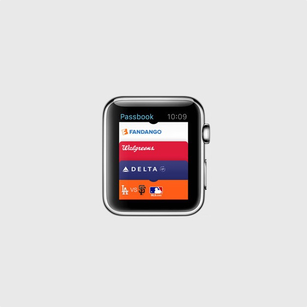 Tickets on Your Apple Watch